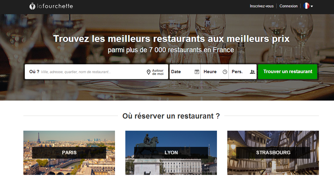 Tripadvisor rach te lafourchette site de r servation de for Site de reservation