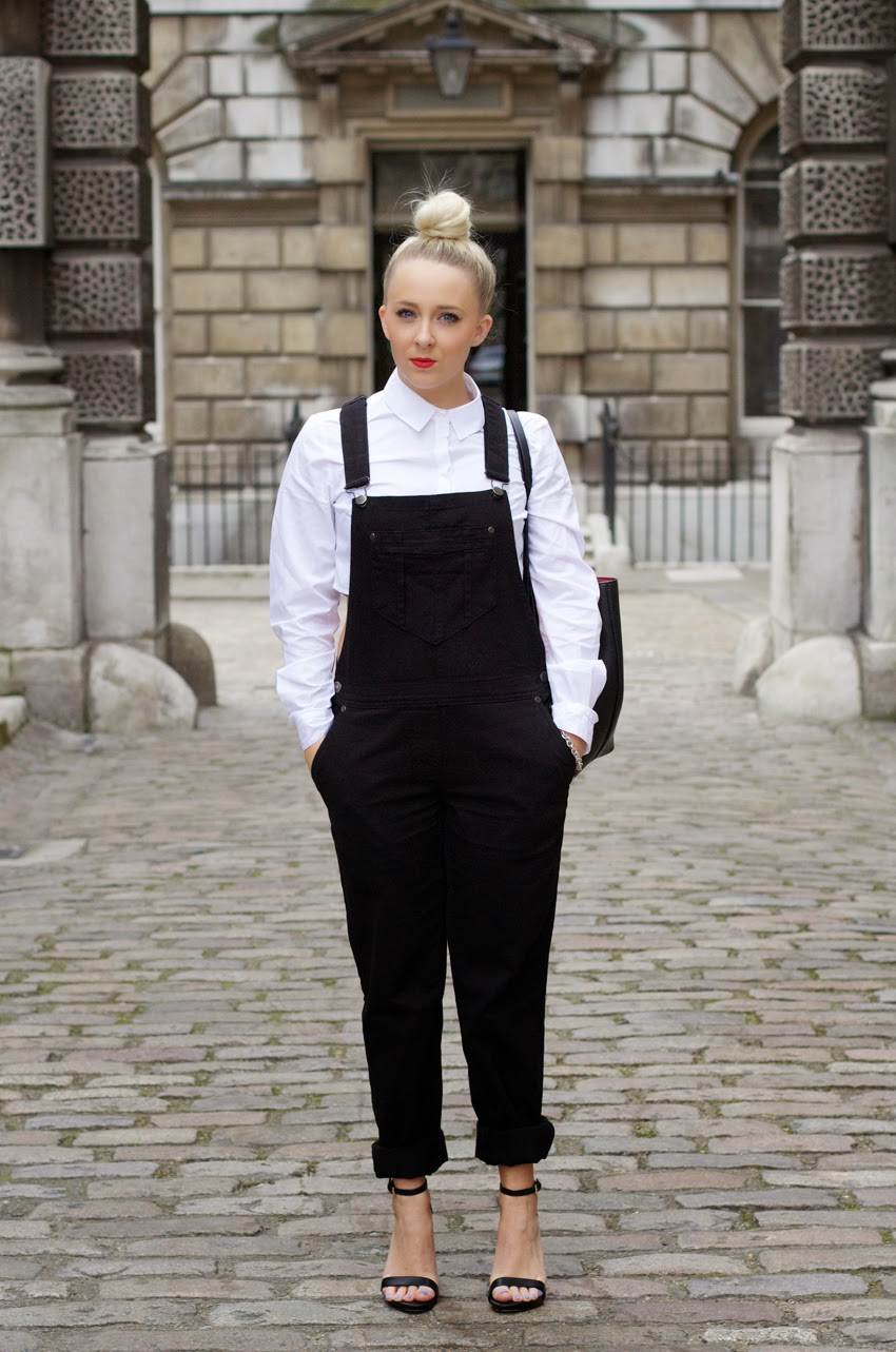 90'S STYLE DUNGAREES | LONDON FASHION WEEK SS15