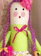 Patron muñeca de tela, pattern rag doll