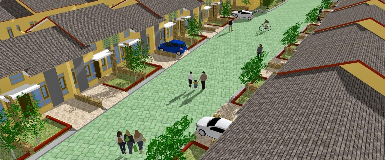 Town house dari gambar sertivikat jasa pembuatan site plan for 3d site plan