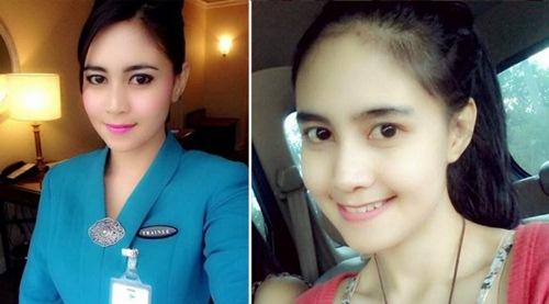Foto Terbaru Cantiknya Para Pramugari Pesawat Indonesia