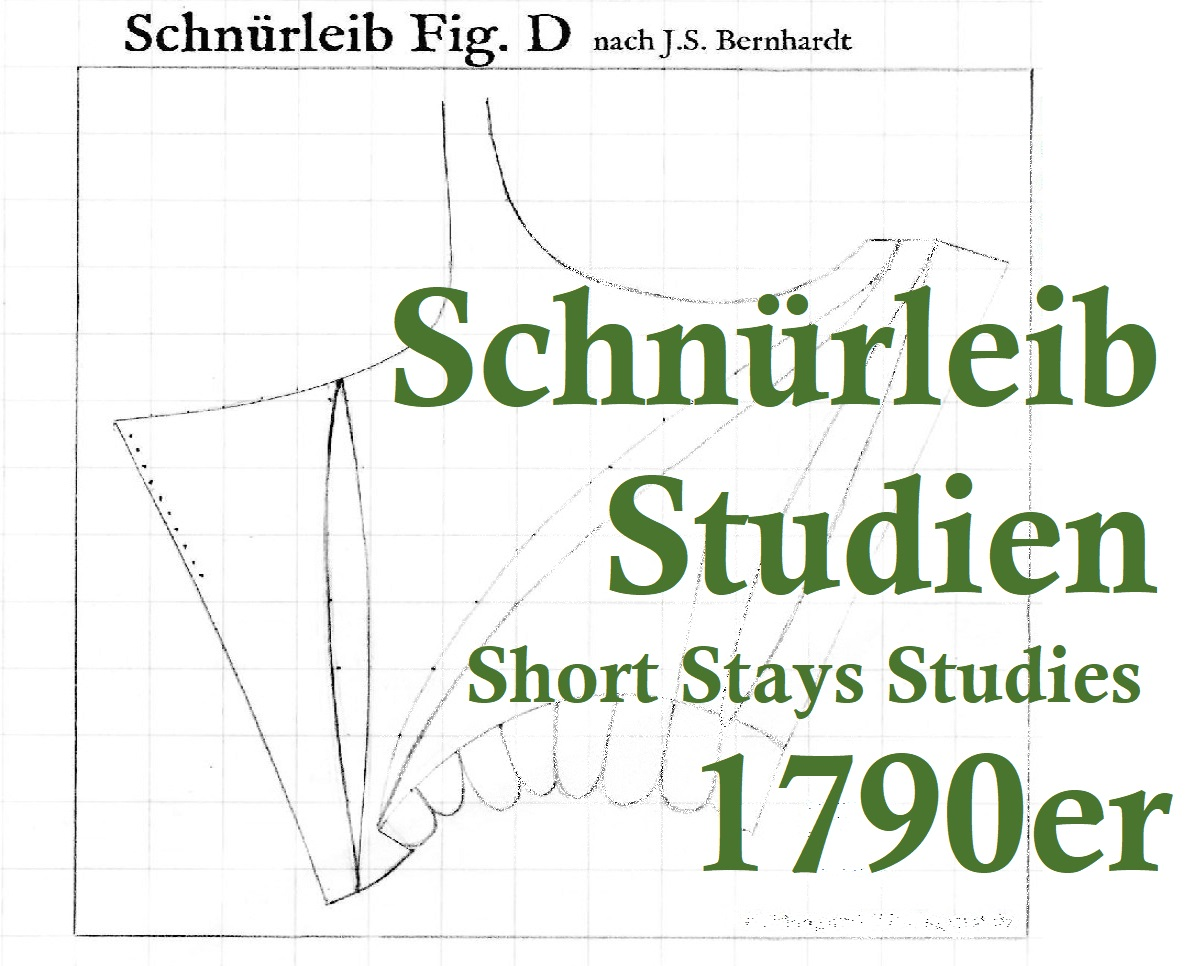 J.S.Bernhardt 1790er Schnürleib
