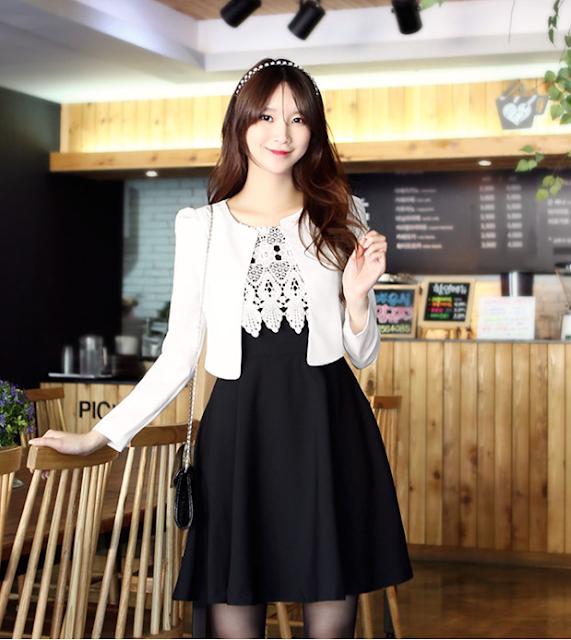 Áo vest nữ dáng xòe Hàn Quốc - Thời trang công sở không thể bỏ qua của phái nữ