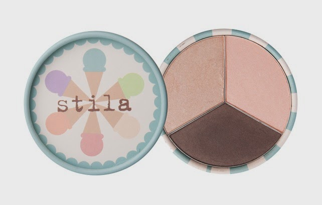Stila Ice Cream Collection Eye Shadow Trio Neapolitan