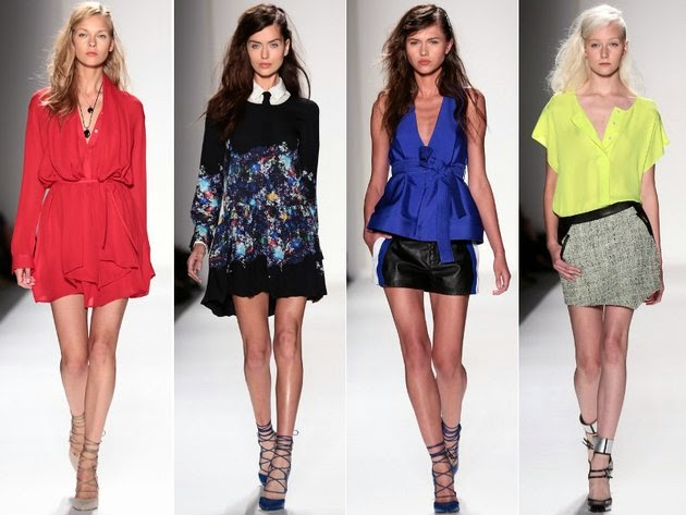 Modern Feminine Collections - NYFW Spring 2014