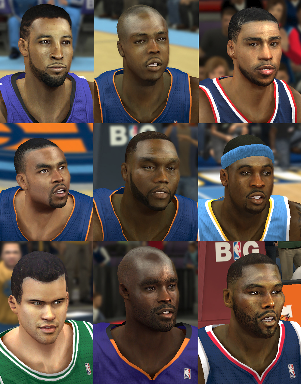 NBA 2K14 Mod Face Update Pack #1