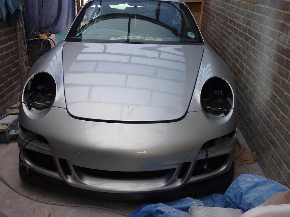 PORSCHE 996 to 997 face lift