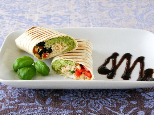 Mediterranean Couscous Wrap