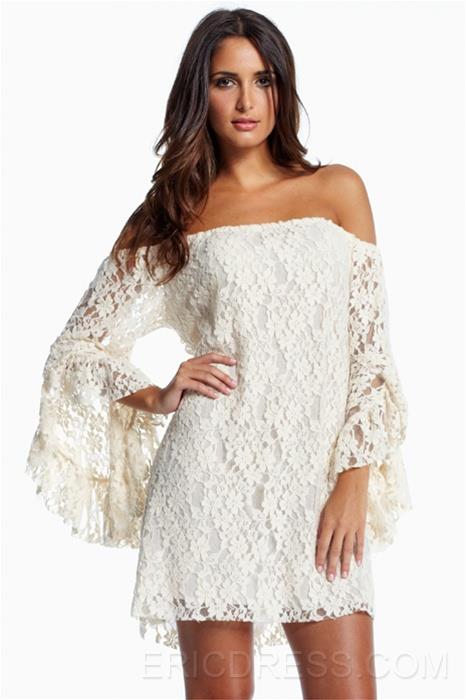 http://www.ericdress.com/product/Cream-Lace-Off-The-Shoulder-Mini-Dress-10614097.html