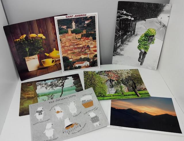 carte postale, postcard, postcrossing, bullelodie