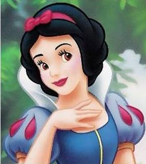 soft wave hairstyles : Snow White, the beautiful porcelain princess with seven dwarven ...