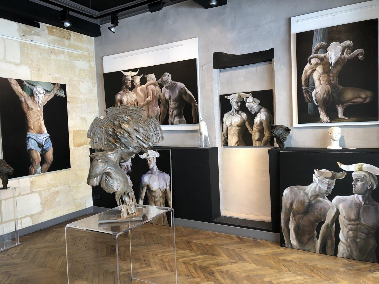 BORDEAUX : EXPOSITION PERSONNELLE DE CAPTON À LA GALERIE BOUILLON D'ART