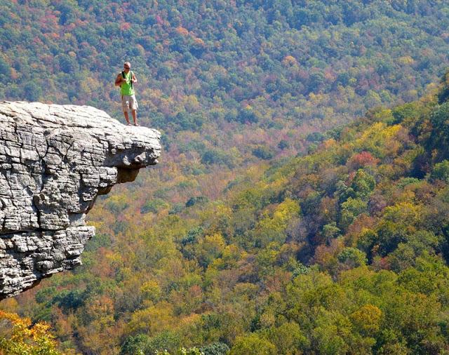 Hawksbill Crag, USA