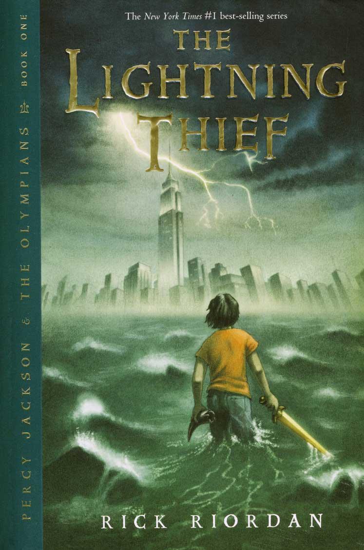 book reviews lightning thief
