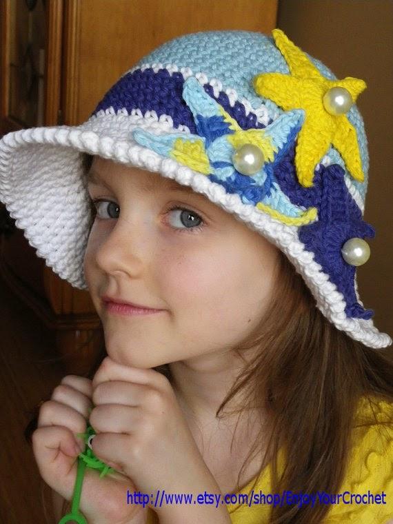 Yazlık Örgü Şapka Örneği