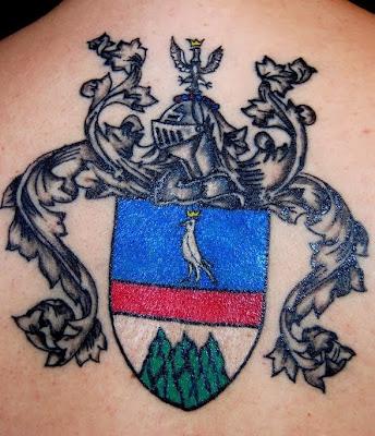 Tatuagem de Brasão