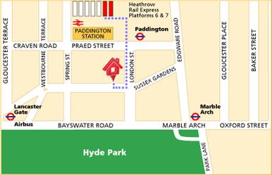 Corus Hotel Hyde Park London Vereinigtes Konigreich