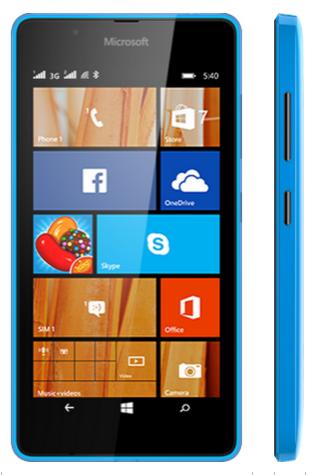 Nokia Microsoft Phone: Lumia 540