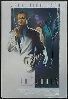 Poster for The Two Jakes (1990)
