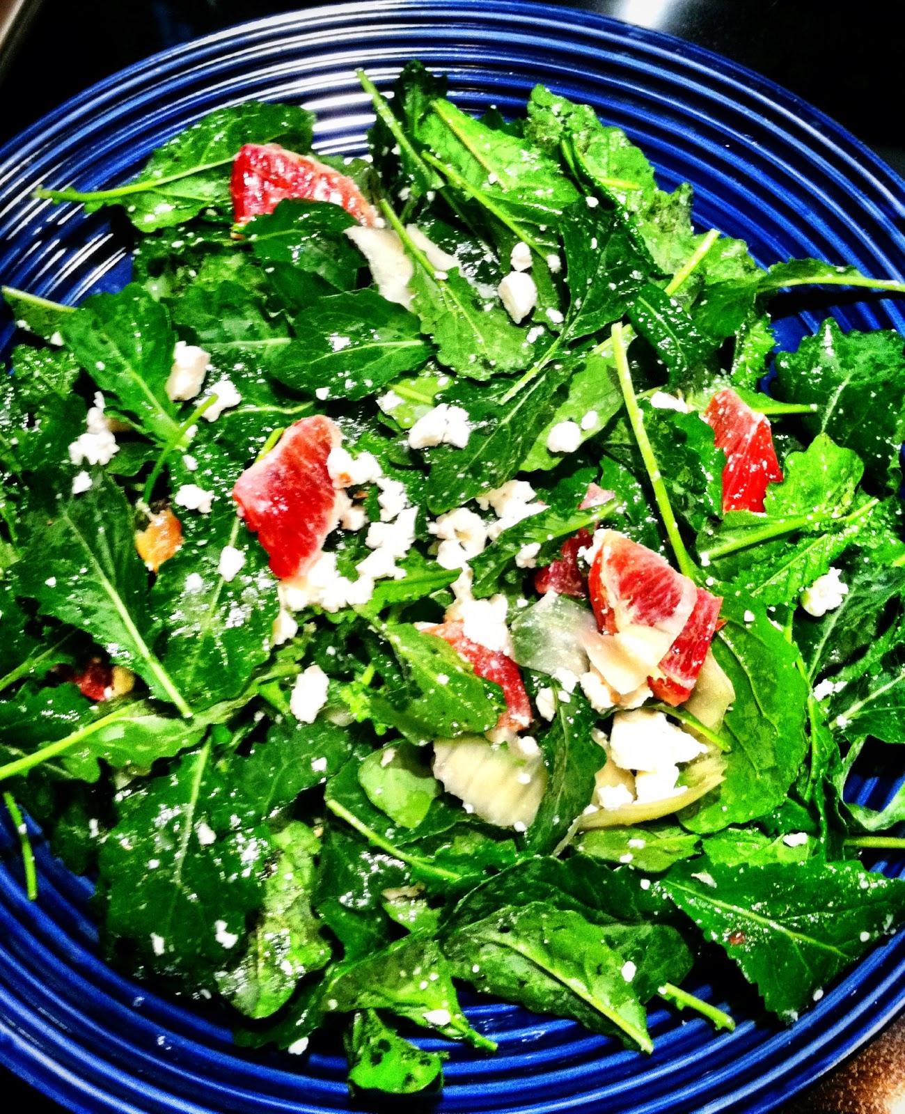 Salad Recipes to Impress Any Palate: Baby Kale & Blood Orange Salad