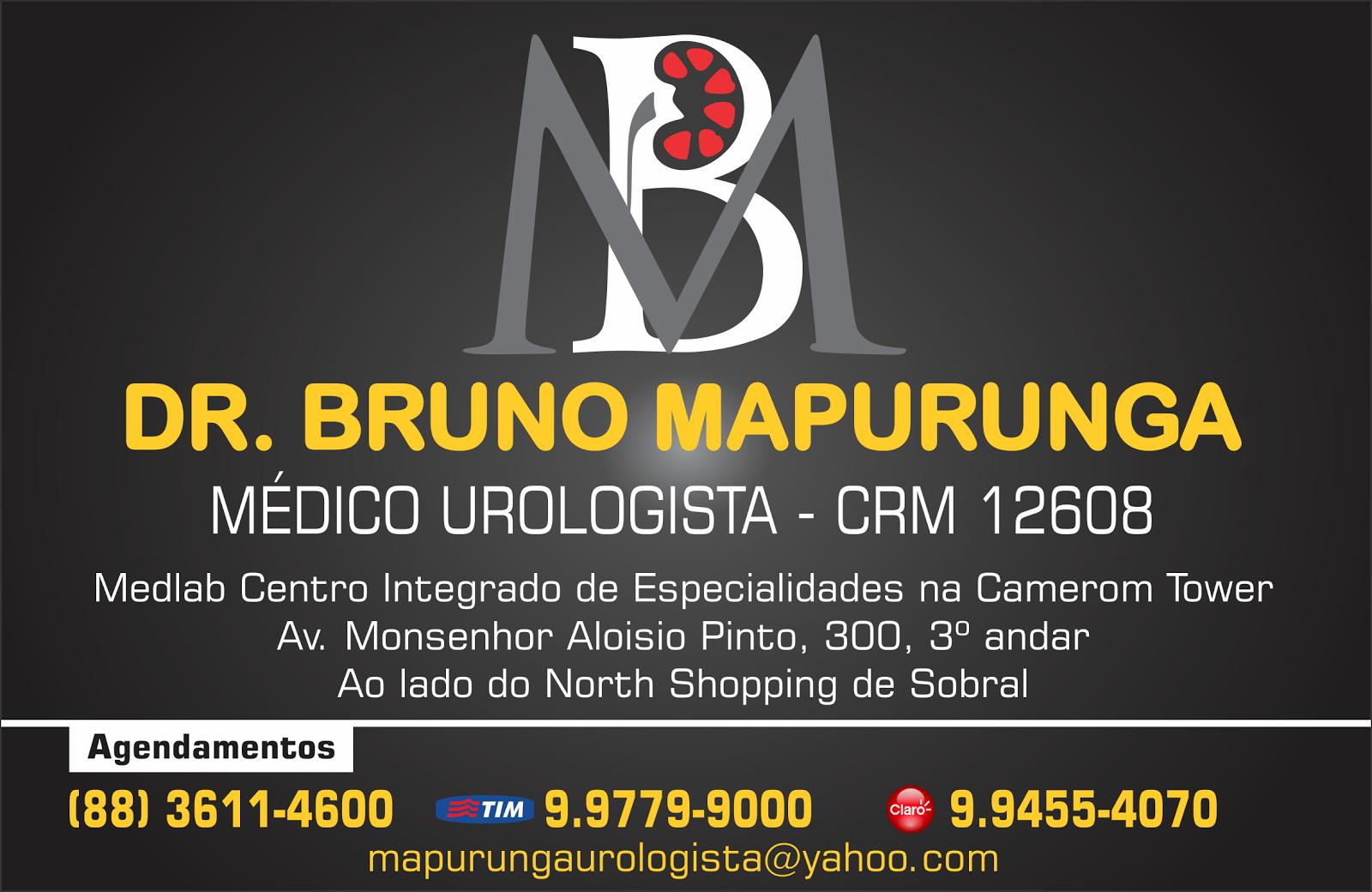 DR. BRUNO MAPURUNGA