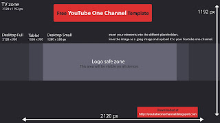 Youtube one channel dimensions