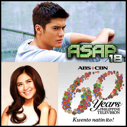 Sarah Geronimo, JC de Vera and ABS-CBN 60th Anniversary Station ID Launch on ASAP 18 (August 4)