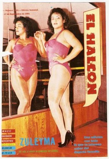 Zuleyma - Mexican Female Wrestlers