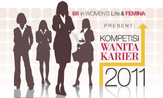 November Lomba Pemilihan Wanita Karir Femina - BII