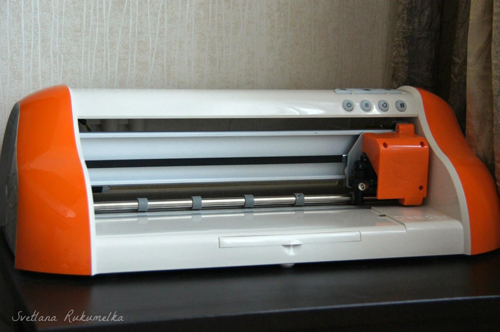 плоттер для скрапбукинга, оранжевый,