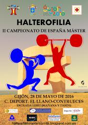 II Campeonato España Halterofilia Máster