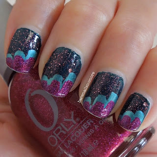 Barry M Watermelon, China Glaze Adore and Orly Miss Conduct