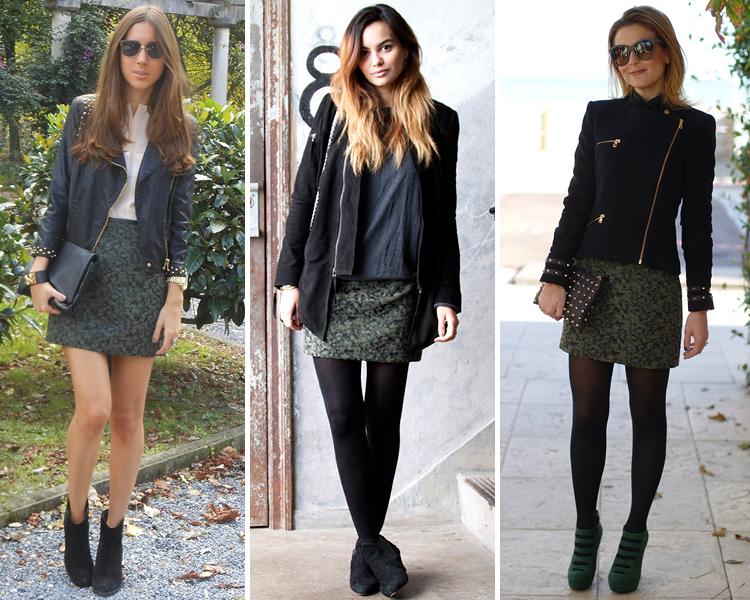 ZARA is the new black  Faldas de estampado camuflaje y barroco en ... b43e91f5a6cd