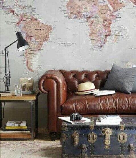 T preguntas d nde encontrar un mural de un mapa mundi - Mural mapa mundi ...