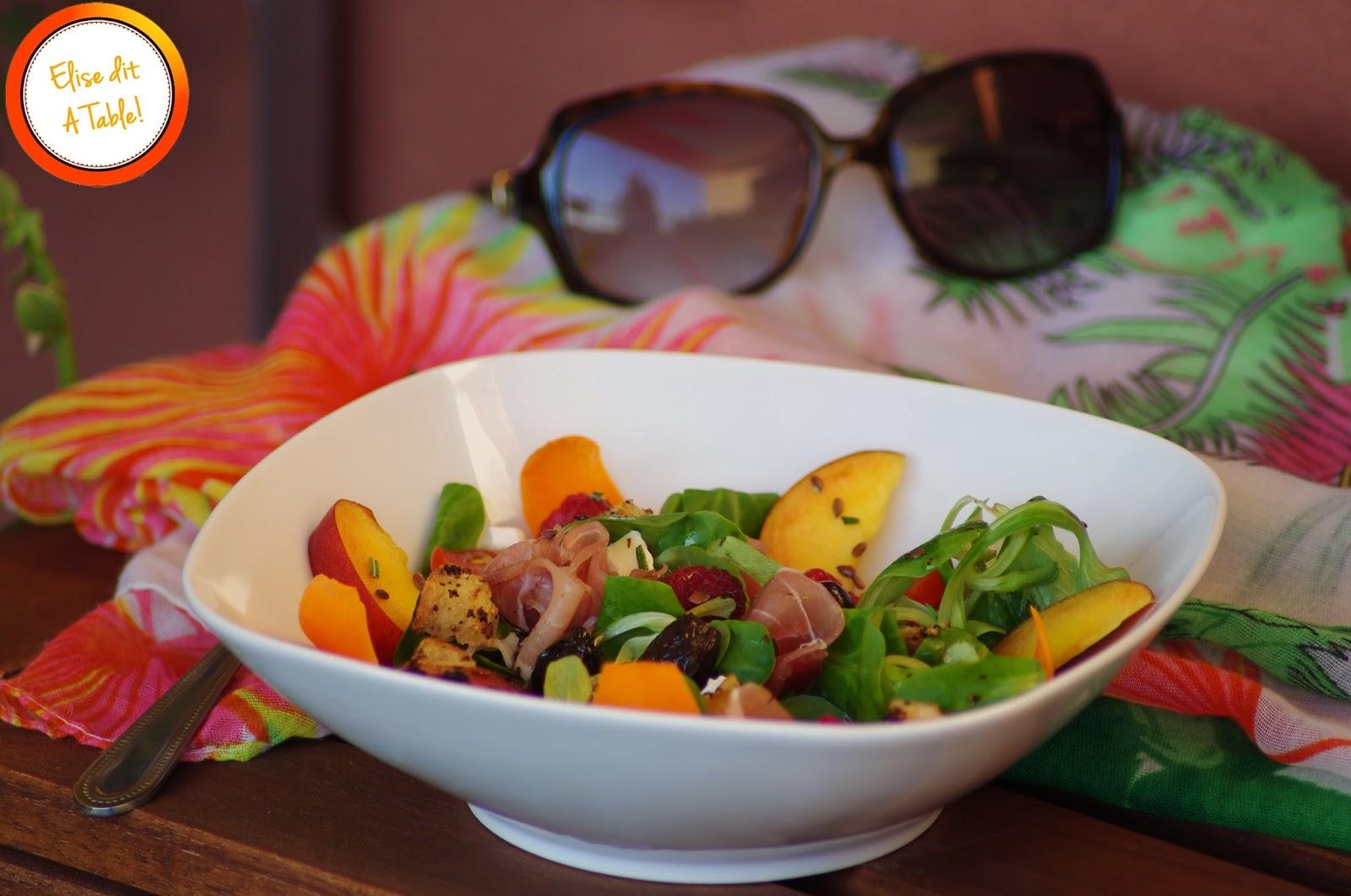 Salade fruit légume