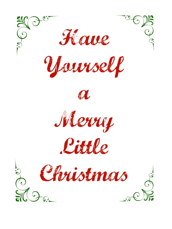i wish you all a very merry christmas and a happy new year - Have Yourself A Very Merry Christmas