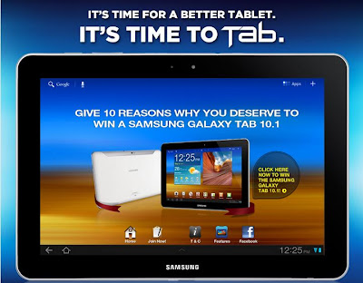 win Samsung Galaxy Tab 10.1 Malaysia