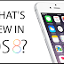 Apple iOS 8 Most Important Features and Functions - Infographic