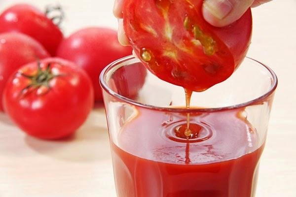 cà chua giúp trị nám tàn nhang hiệu quả