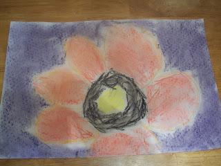 Chalk pastels (Georgia O'Keffe)