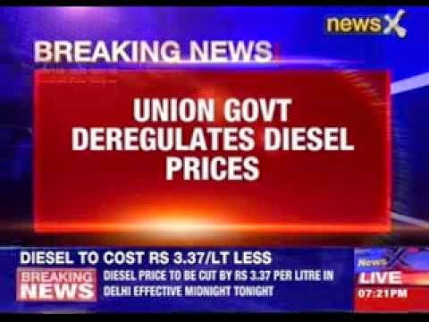 Modi govt's big reform push: Diesel deregulated, natural gas price hiked