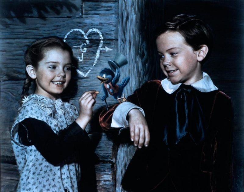 Bobby Driscoll, Luana Patten in 2 Disney gems! So Dear To My Heart and Song of the South