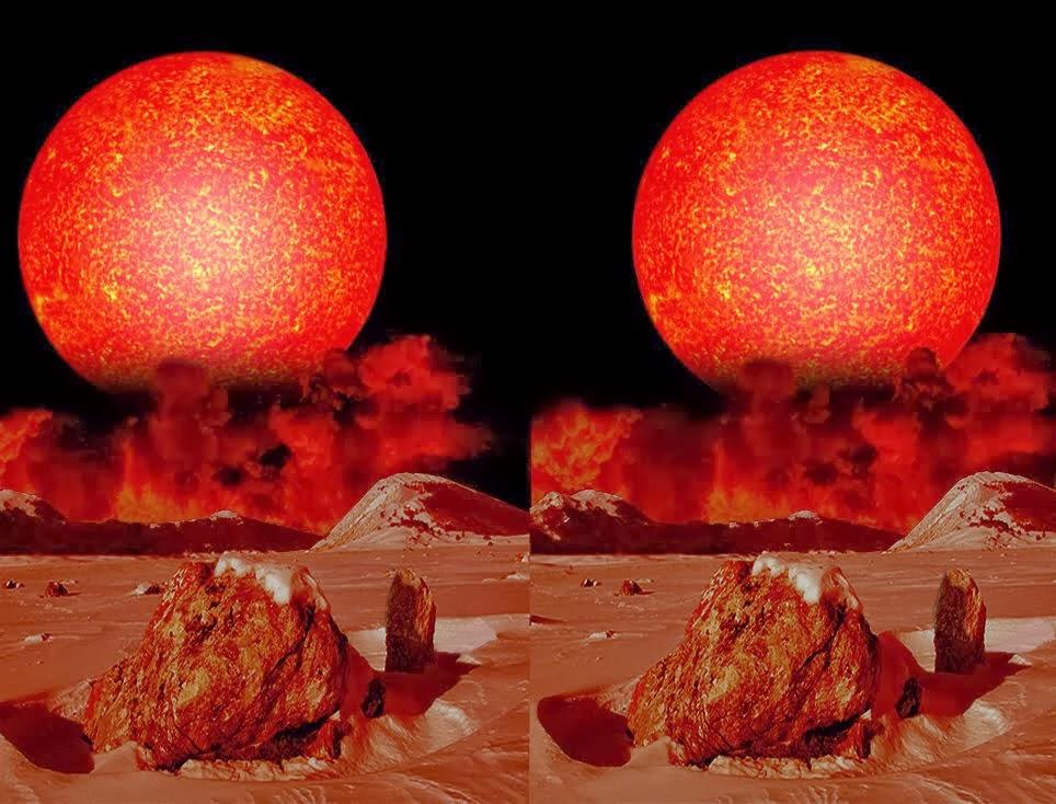 La dimensione delle stelle e dei buchi neri. Cosmo in 3D