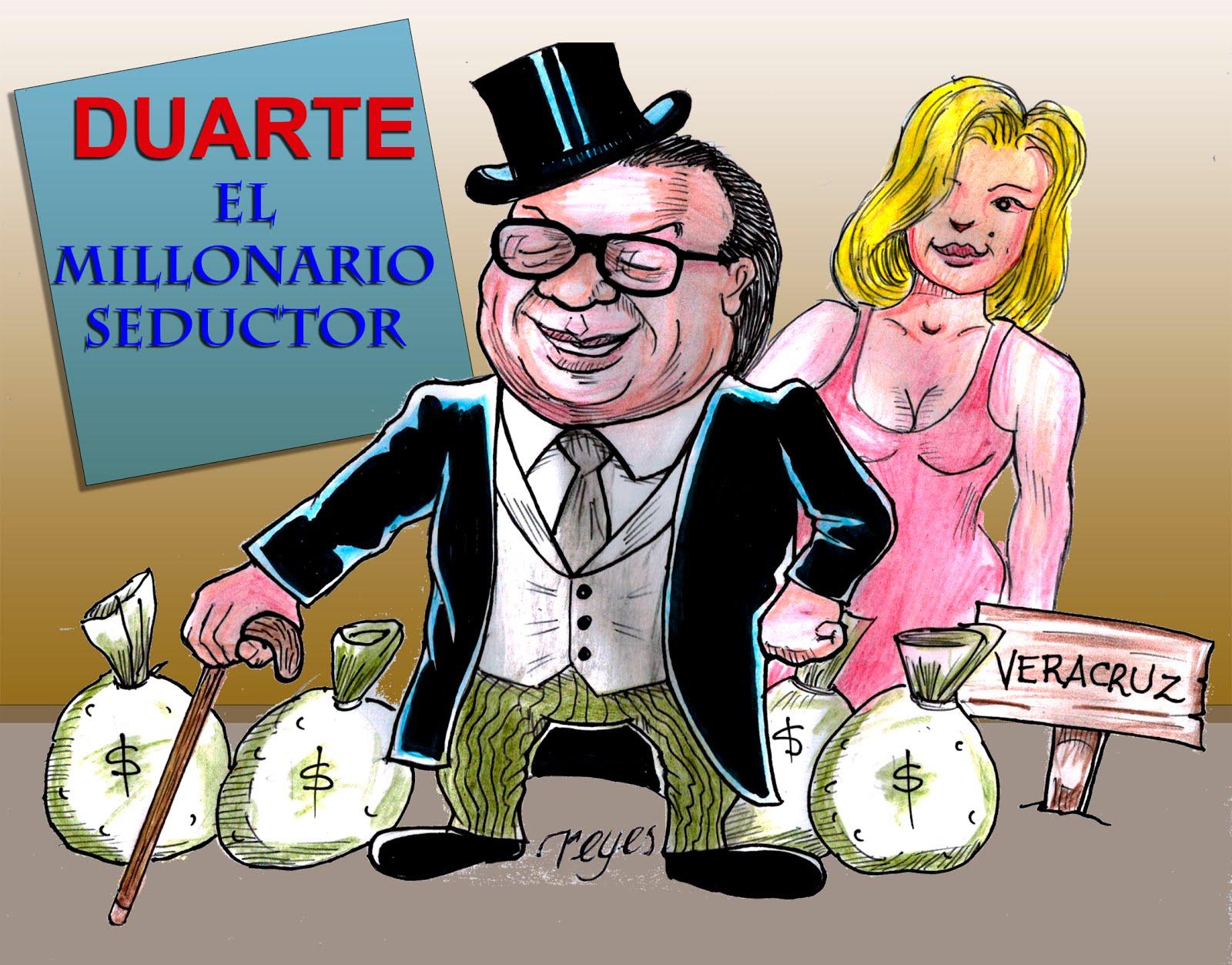 Duarte, el millonario seductor