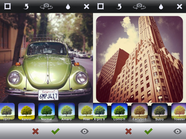 Mobile apps for photographers Instagram
