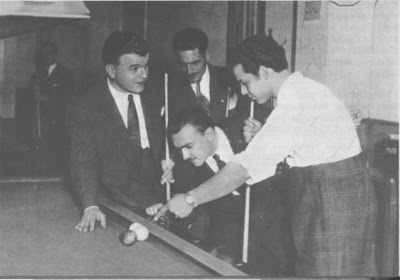 Osmar Maderna, Mario Pomar, taqueando y Pedro Dátila