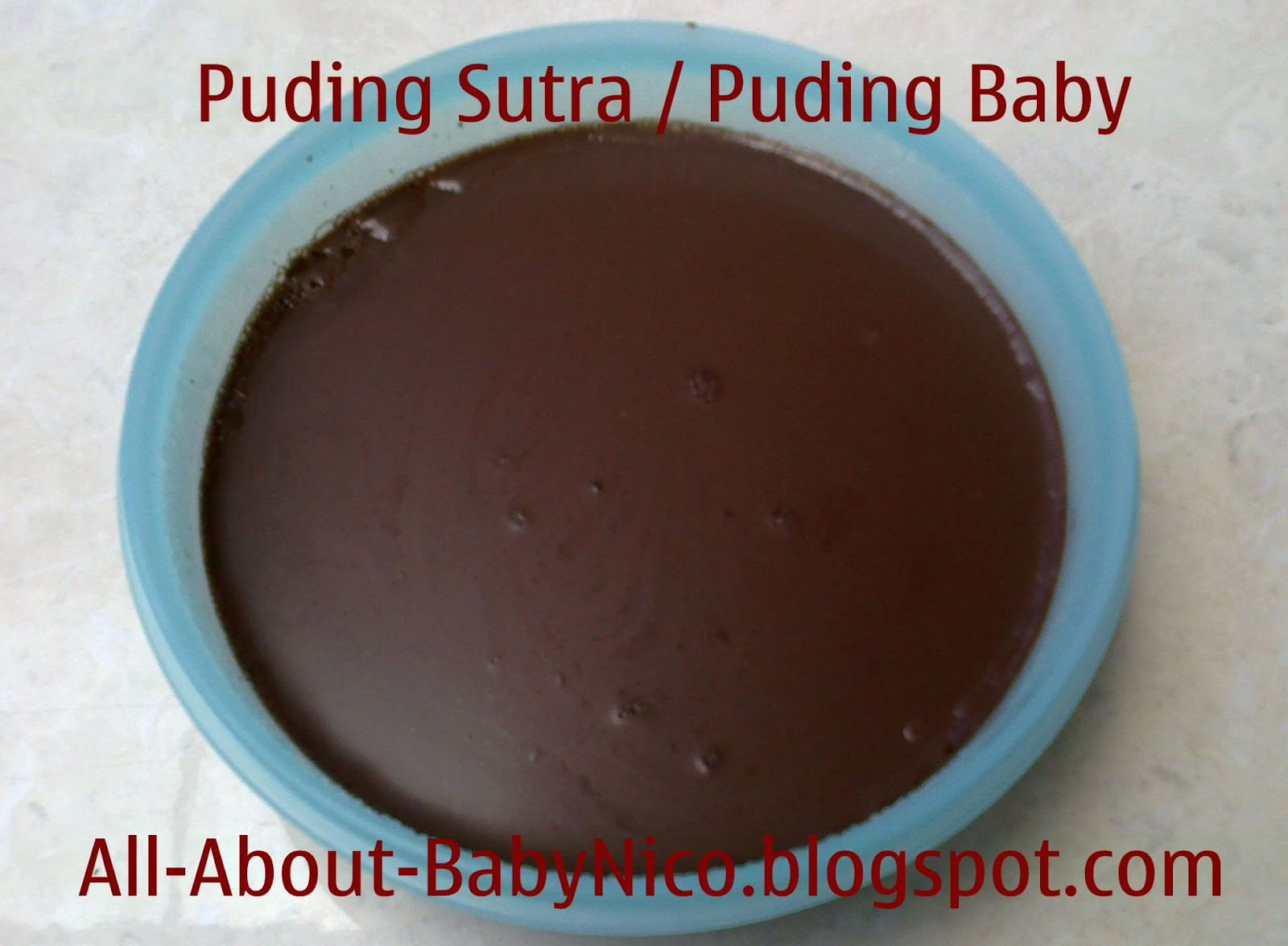 All About Baby Nico: Puding Sutra Coklat