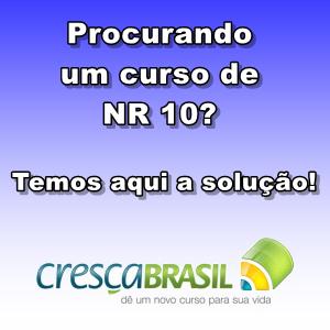 Clique e confira um curso exclusivo de NR 10!