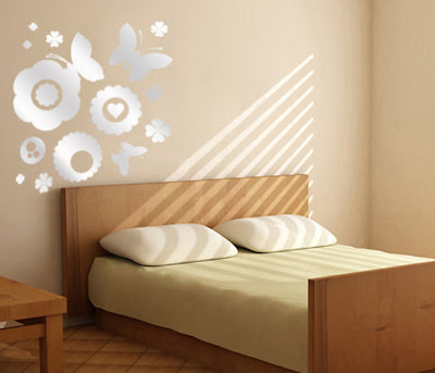 ��� ����� ��������� ������ �� ����� .. mirror-stickers-wall