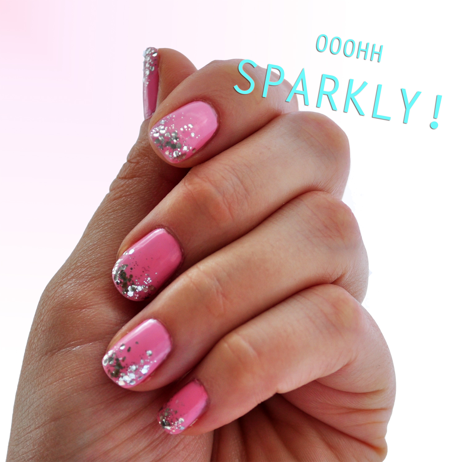 Ditty Drops Confetti Bubblegum Nail Art
